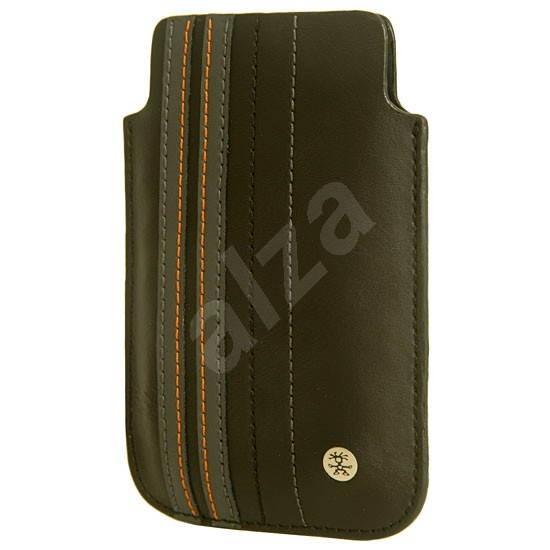 CRUMPLER The Le Royale černo-šedá - Pouzdro na mobilní telefon