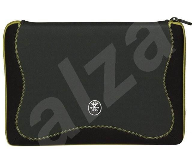 """CRUMPLER The Gimp 17"""" - neoprénové pouzdro na notebook, šedo-černo-zelené (grey-black-green), 39,2x2 - Pouzdro na notebook"""