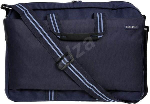 "Samsonite Network Laptop Bag L 17.3"" modrá - Brašna na notebook"