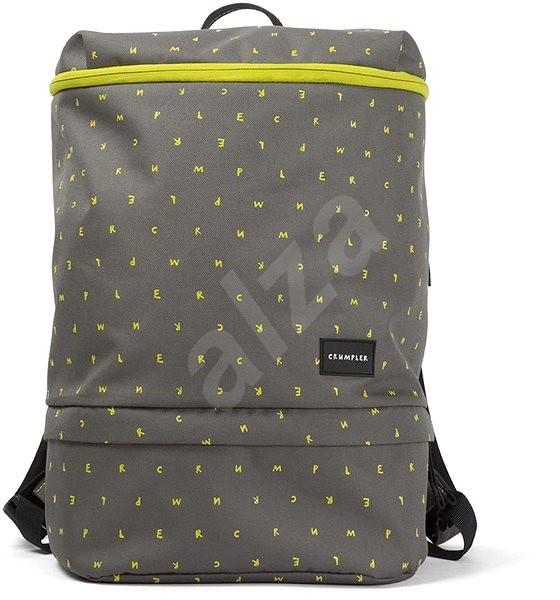 Crumpler Beehive - grey/yellow - Batoh na notebook