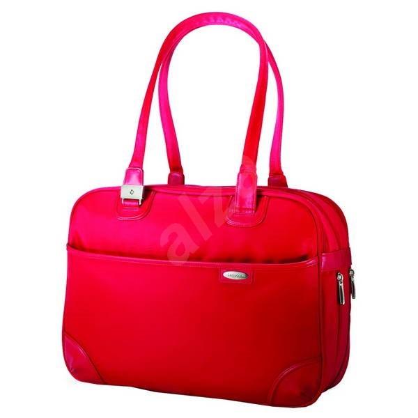 """Samsonite Sabon Ladies Business M 15"""" červená - Dámská brašna na notebook"""