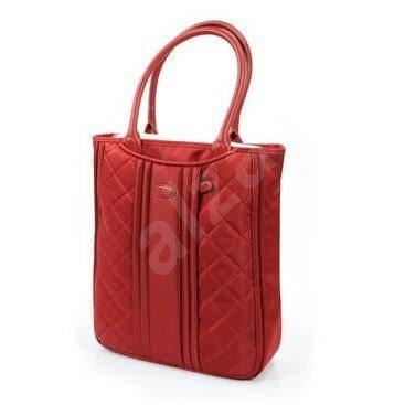 """Samsonite Virgo Tote Bag 15.4"""" červená - Dámská brašna na notebook"""