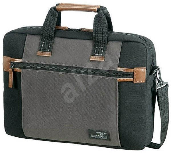"Samsonite SIDEWAYS LAPTOP BAG 15.6"" BLACK/GREY - Brašna na notebook"