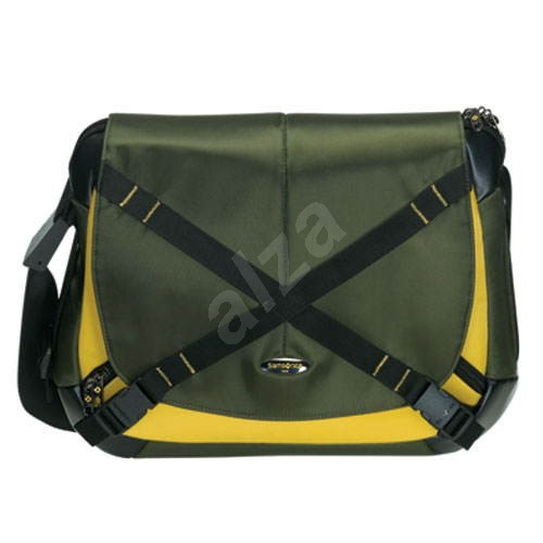 "Samsonite Proteo Casual Messenger's Bag 15.4"" zeleno-žlutá - Brašna na notebook"