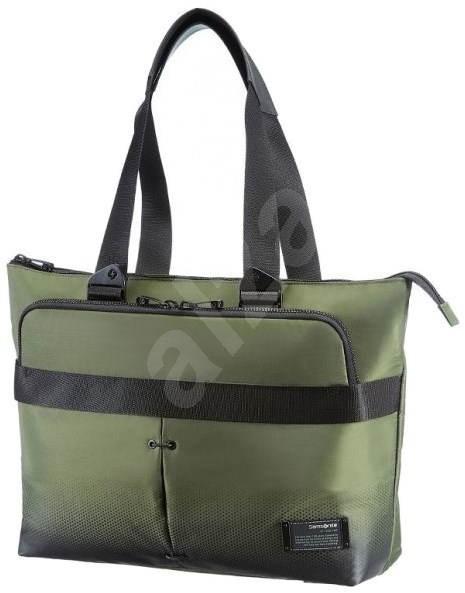 "Samsonite CityVibe Horizontal Shoulder Bag 15.6"" zelená - Brašna na notebook"