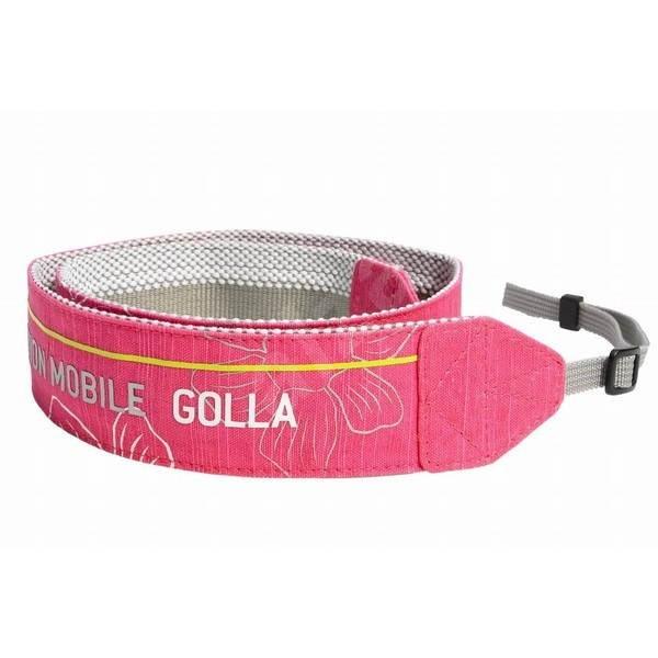 GOLLA Blink růžový - Popruh na fotoaparát