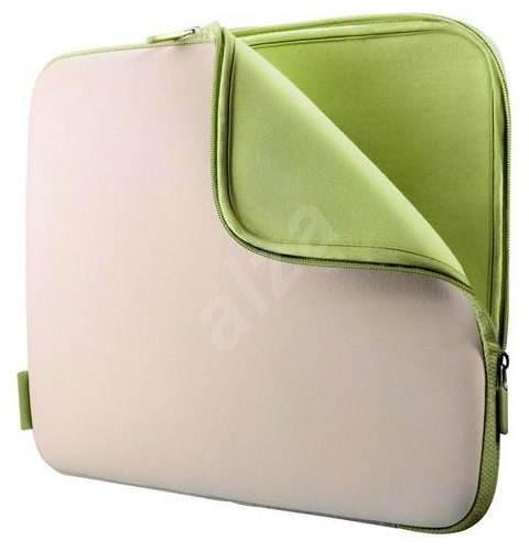 """Belkin Sleeve 15.4"""" bílo-zelená - Brašna na notebook"""