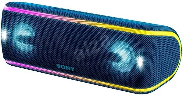 Sony SRS-XB41, modrá - Bluetooth reproduktor