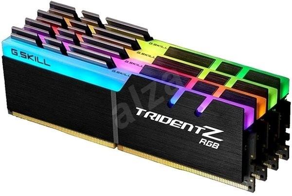 G.SKILL 64GB KIT DDR4 2400MHz CL14 Trident Z RGB for AMD - Operační paměť