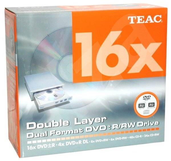 TEAC W516GBK - DVD±R 16x, DVD+R9 4x, DVD+RW 8x, DVD-RW 6x, interní Kit - DVD vypalovačka
