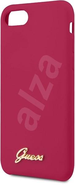 Guess Retro pro iPhone 8/SE 2020 Burgundy - Kryt na mobil