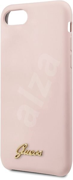 Guess Retro pro iPhone 8/SE 2020 Pink - Kryt na mobil