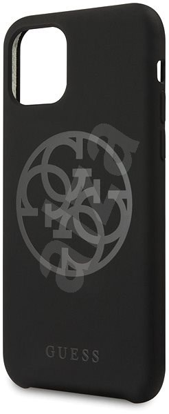 Guess 4G Tone on Tone pro iPhone 11 Pro Max Black (EU Blister) - Kryt na mobil