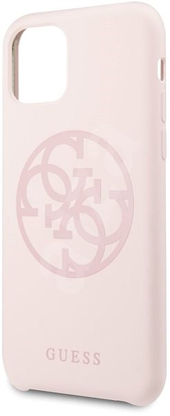 Guess 4G Tone on Tone pro iPhone 11 Light Pink (EU Blister) - Kryt na mobil