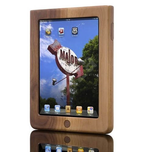 Vers iPad Shellcase Dark Walnut - Ochranné pouzdro