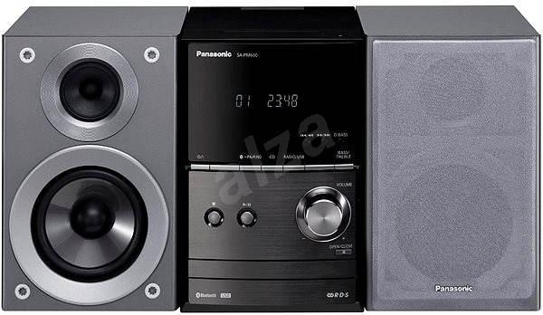Panasonic SC-PM600EG-S stříbrný - Mikrosystém