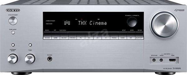 ONKYO TX-NR696 stříbrný - AV receiver