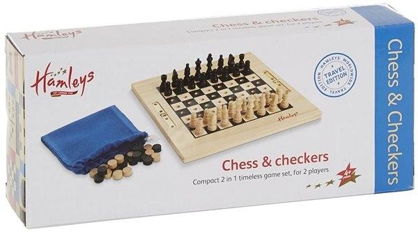 Hamleys Cestovní šachy a dáma - Stolní hra