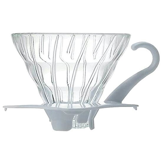 Hario skleněný dripper na kávu V60-01 - Překapávač