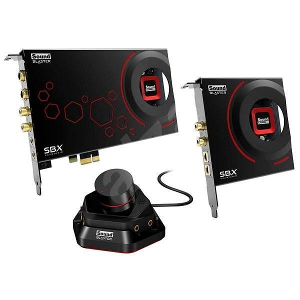 Creative SOUND BLASTER ZxR + Sound Blaster DBpro - Zvuková karta