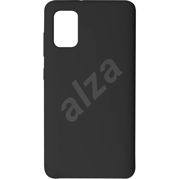 Hishell Premium Liquid Silicone pro Samsung Galaxy A41 černý - Kryt na mobil