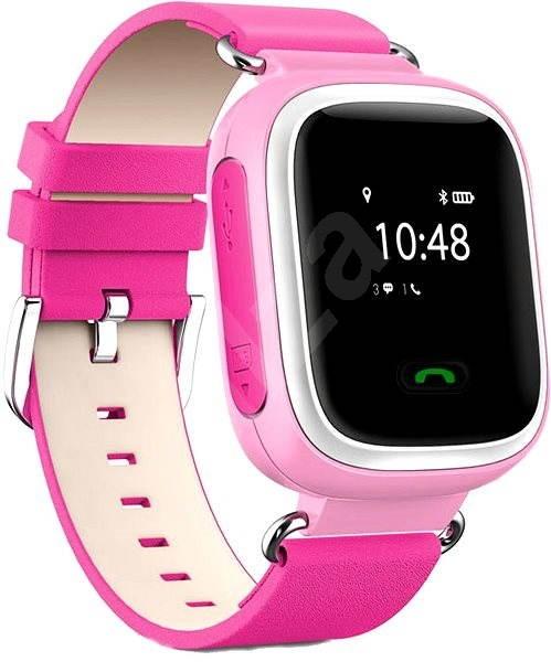 Helmer LK 702 růžové - Dětské hodinky  f9433092ff6