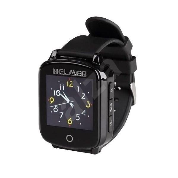Helmer seniorské hodinky LK 706, černé - Chytré hodinky