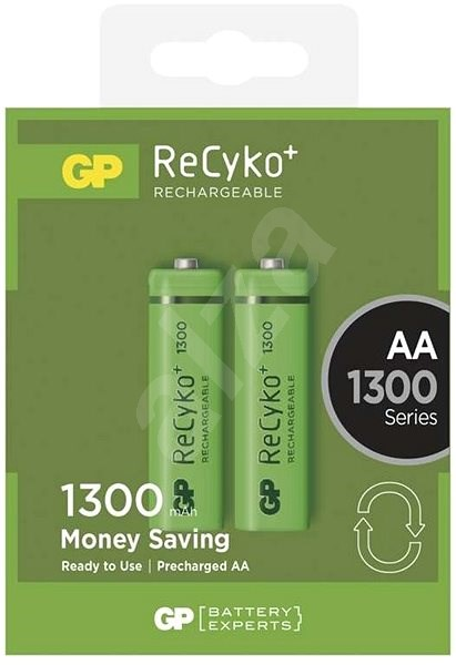 GP ReCyko 1300 (AA) 2ks - Nabíjecí baterie