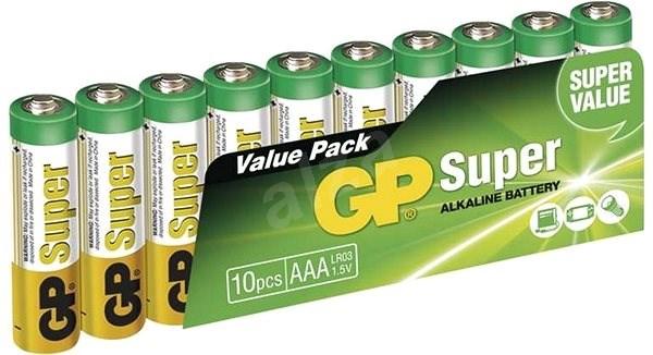 GP Super Alkaline LR03 (AAA) 10ks v blistru - Jednorázová baterie