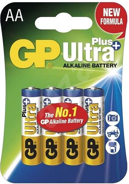 GP Ultra Plus Alkaline LR6 (AA) 4ks v blistru - Jednorázová baterie