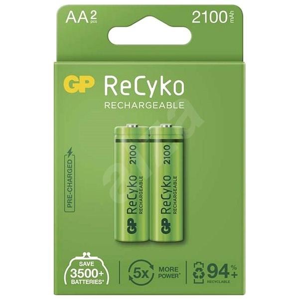 GP ReCyko 2100 AA (HR6), 2 ks - Nabíjecí baterie