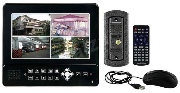 Emos H1027 černý - Videotelefon