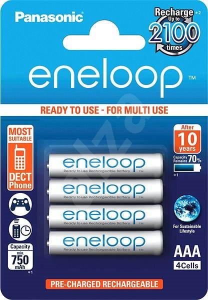 Panasonic eneloop AAA 750mAh 4ks - Nabíjecí baterie
