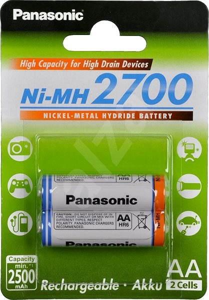 Panasonic eneloop pro AA NiMh 2450mAh 4ks - Nabíjecí baterie