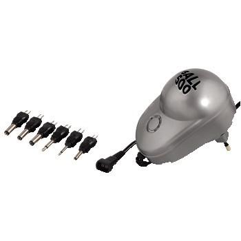 Hama univerzální síťový adaptér s přepínatelným výstupním napětím, 500mA, stabilizovaný, LED indikac -