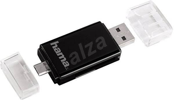 Hama USB 2.0 černá - Čtečka karet