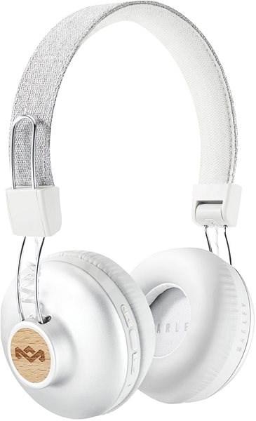 House of Marley Positive Vibration 2 wireless - silver - Sluchátka s mikrofonem