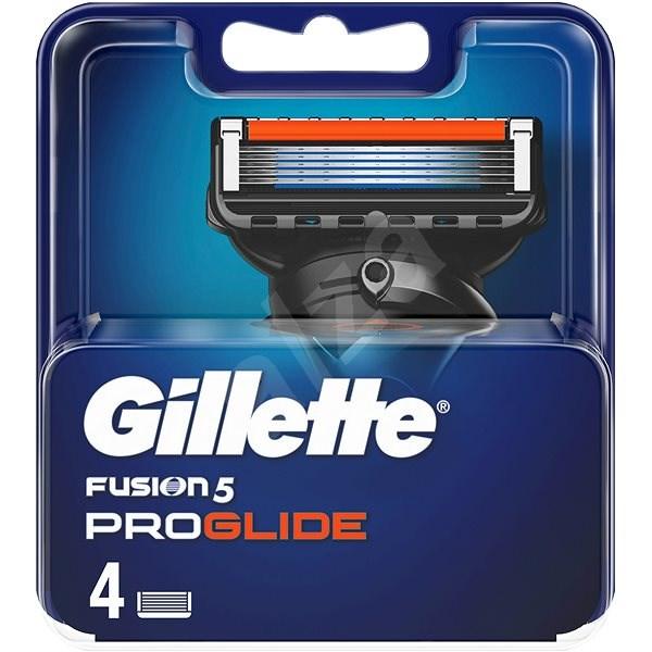 GILLETTE Fusion ProGlide Manual 4 ks - Pánské náhradní hlavice