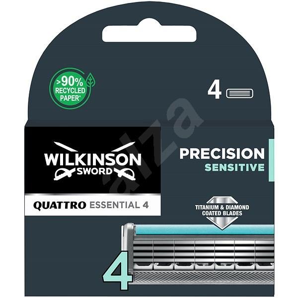 WILKINSON Quattro Titanium Sensitive 4 ks - Pánské náhradní hlavice