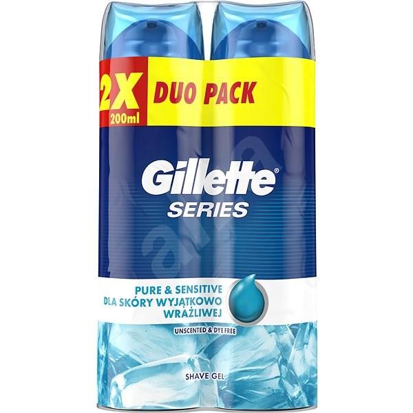GILLETTE Series Gel Ultra Sensitive 2 × 200 ml - Gel na holení