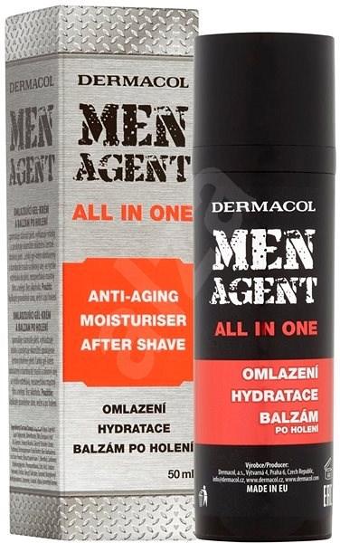DERMACOL Men Agent All in One 50 ml - Gel po holení