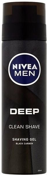 NIVEA MEN Deep Clean Shave 200 ml - Gel na holení