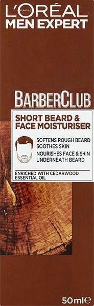 ĽORÉAL PARIS Men Expert Barber Club Face Moisturiser 50 ml  - Balzám na vousy
