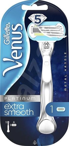 GILLETTE Venus Extra Smooth Platinum + hlavice 1 ks - Dámský holicí strojek