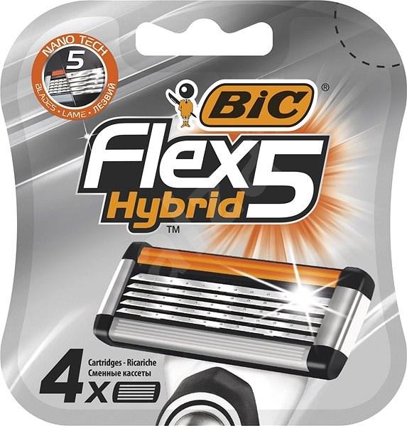 BIC Flex5 4 ks - Pánské náhradní hlavice