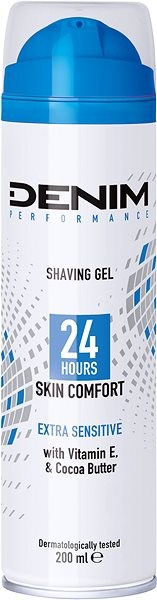 DENIM Extra Sensitive Gel 200 ml - Gel na holení