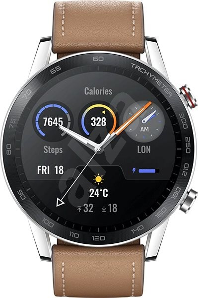 Honor Watch Magic 2 46mm Steel - Chytré hodinky