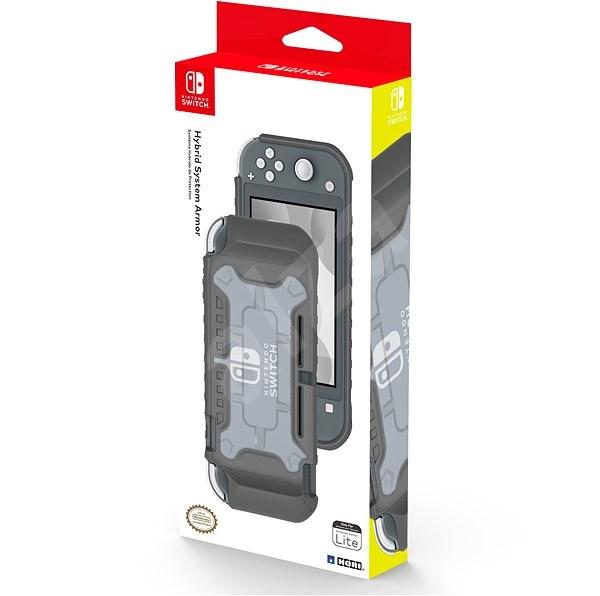 Hori Hybrid System Armor šedý - Nintendo Switch Lite - Pouzdro