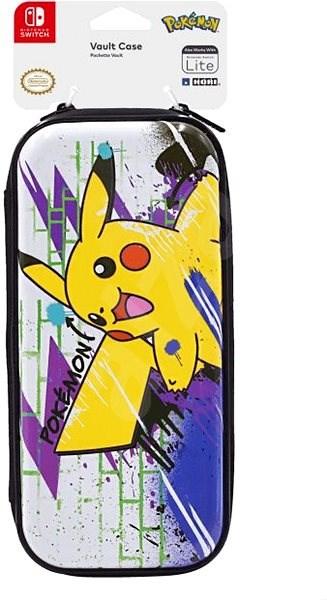 Hori Premium Vault Case - Pikachu - Nintendo Switch - Pouzdro