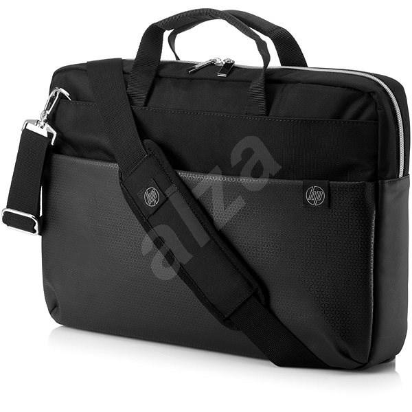 86ef71debc HP Pavilion Accent Briefcase Black Silver 15.6